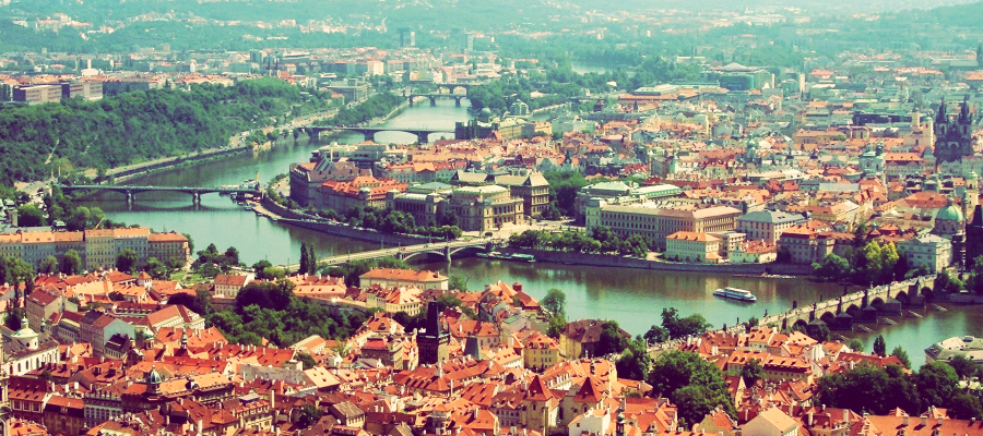 traveling and living in Prague